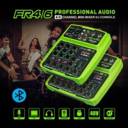 Drembo-Consola de audio digital portátil, 4/6 CH